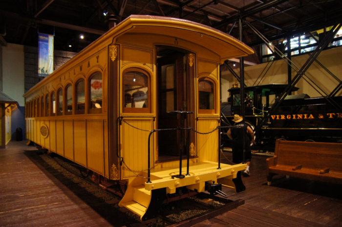 9. Sacramento Train Museum