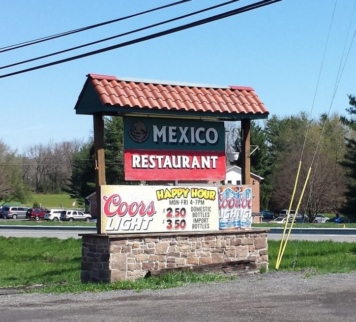 6. Mexico Restaurant, White Plains & Huntingtown