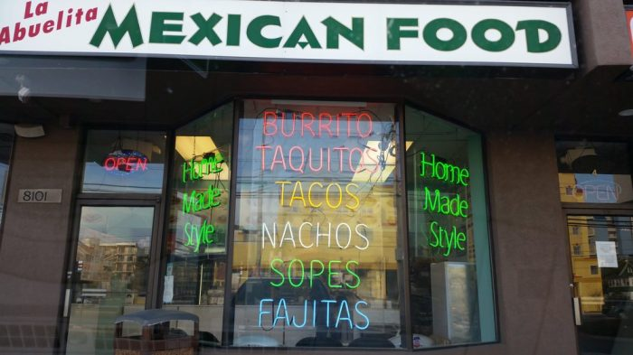 9. La Abuelita Mexican Food, Ocean City