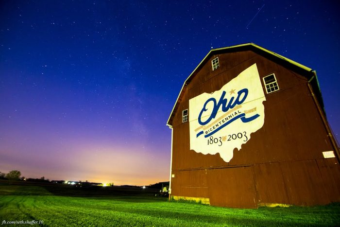 4. This Bicentennial Barn just outside of Norwalk looks downright majestic.