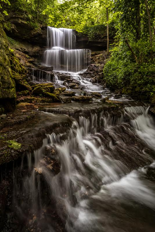 8. The beauty of West Milton Cascades is simply stunning.