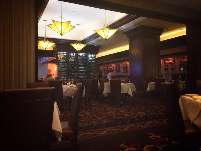 7. Vic & Anthony's Steakhouse, 2550 Golden Nugget Blvd., Lake Charles