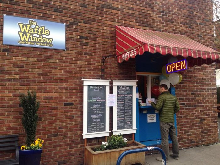 2. The Waffle Window - Multiple Locations