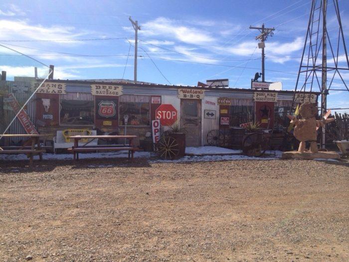 7. Watson's BBQ 502 S Lake Street, Tucumcari