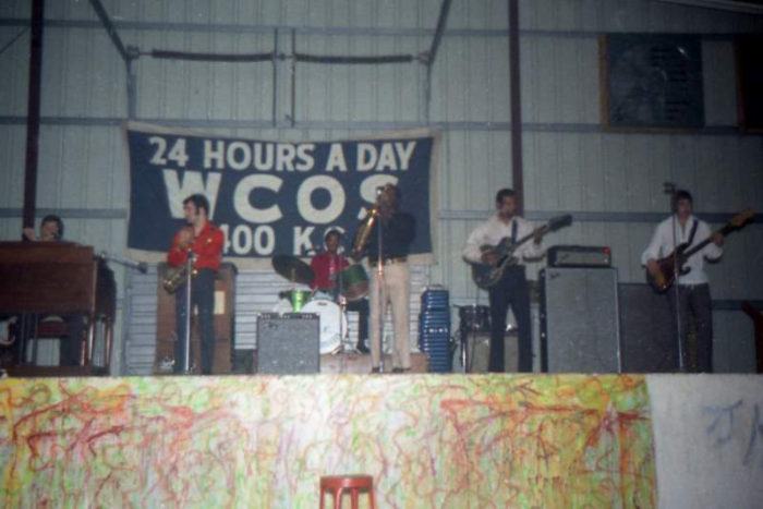 10. A local band competes in the 1969 WCOS Battle of the Bands in Columbia.