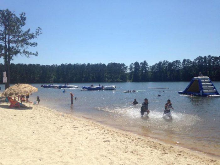 8. White Sands Lake, Franklinton