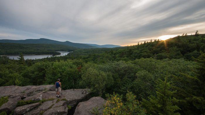 4. Hiking through the Catskill Mountains.
