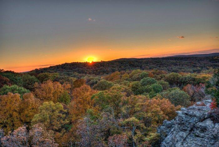 Illinois: Garden of the Gods Wilderness, Shawnee National Forest