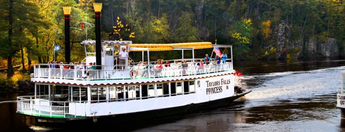 You can take amazing riverboat tours on the St. Croix through the Dalles and by Interstate State Park, as well as the Boom Site.