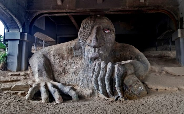 11.  The Fremont Troll