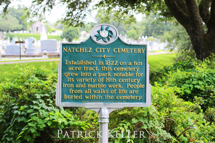 1. Natchez City Cemetery, Natchez