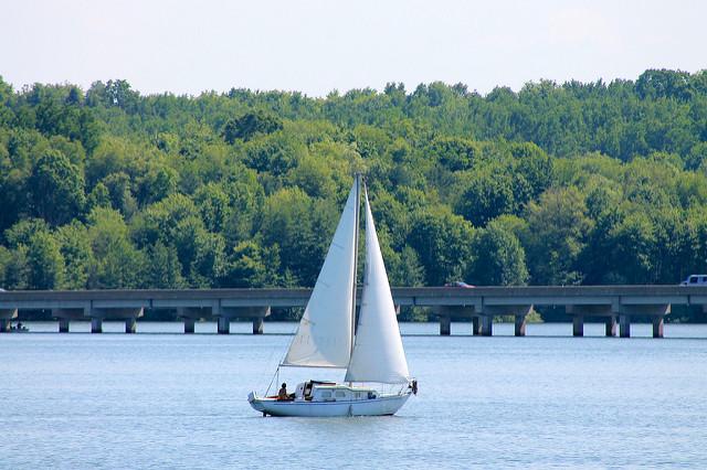 ...sailing and...