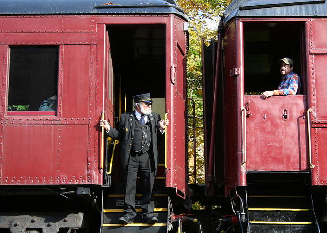 Climb aboard a train for a scenic tour of the Lehigh Gorge.