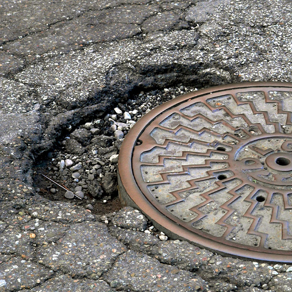 1. Get ready for the potholes.