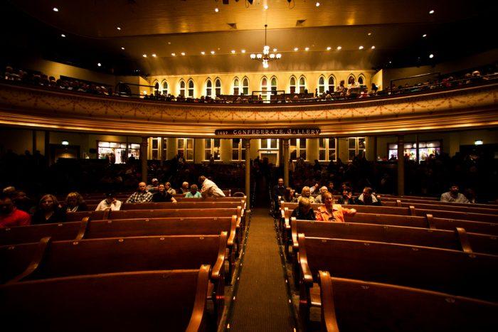 1. Ryman Auditorium - Nashville