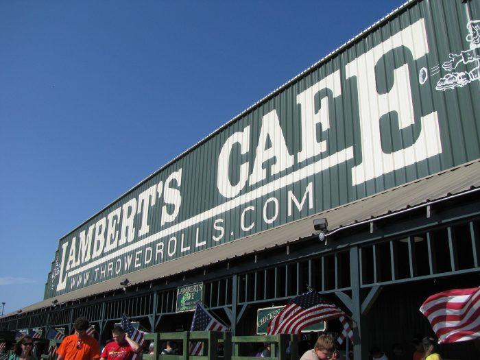 1. Lambert's Cafe – Ozark, Mo.