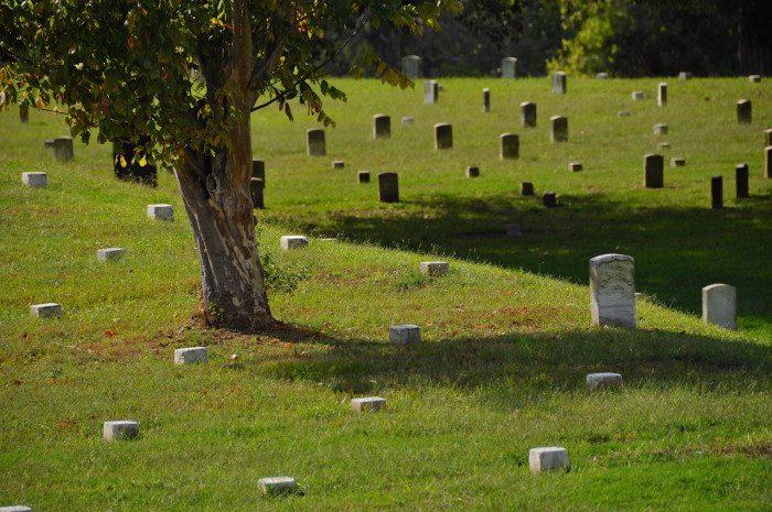 10. Vicksburg National Cemetery, Vicksburg