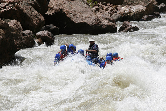 10. Try whitewater rafting.