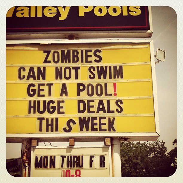 9. Unless the zombies mutate...