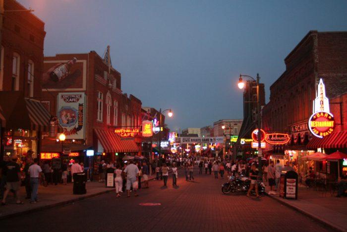 10. Beale Street Historic District - Memphis