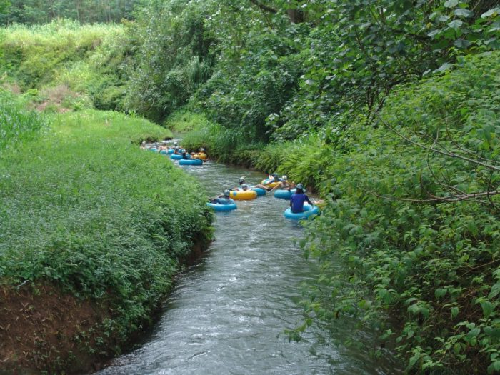 10. Try mountain tubing through old irrigation canals.