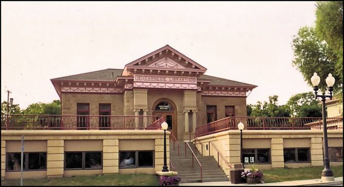 8. The Lewistown Public Library