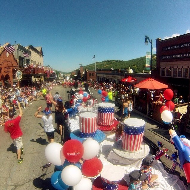 2. Our small town parades are pretty cool, too...