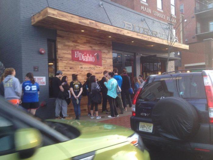 3. El Diablo Burritos, Wilmington and Newark