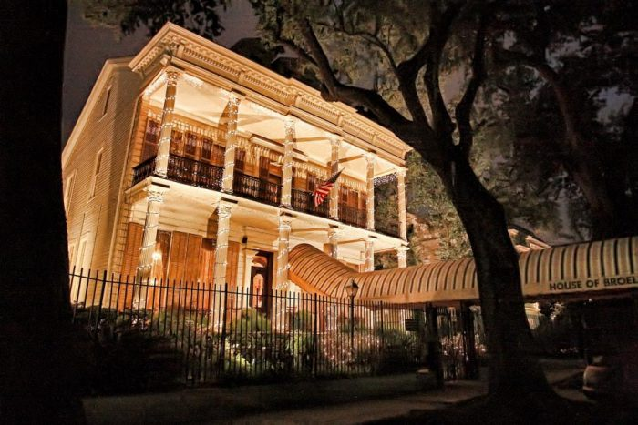 1. House of Broel, New Orleans