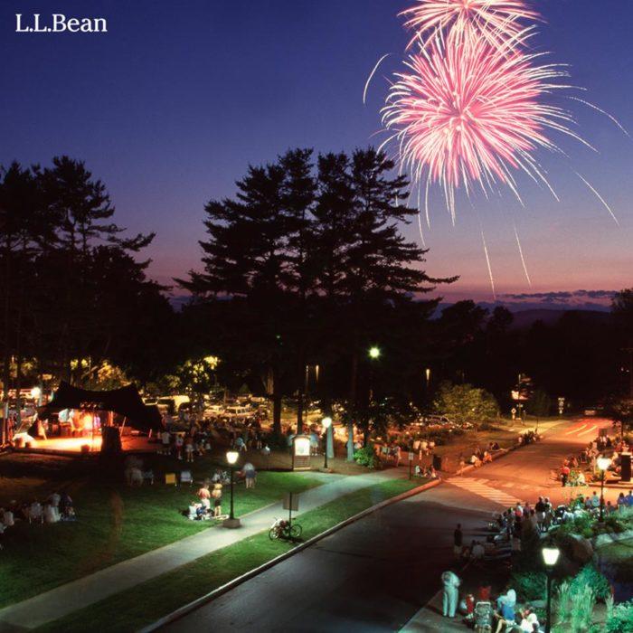 2. L.L. Bean Summer Fourth of July Celebration, Freeport