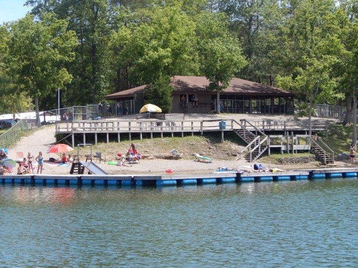 1. Mineral Springs Lake