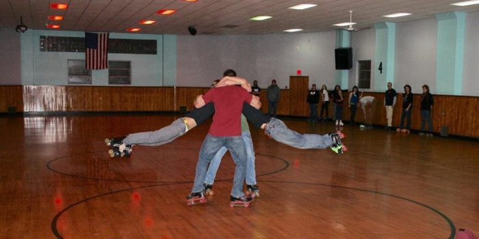 11. Go for an awesome throw-back roller skating night.