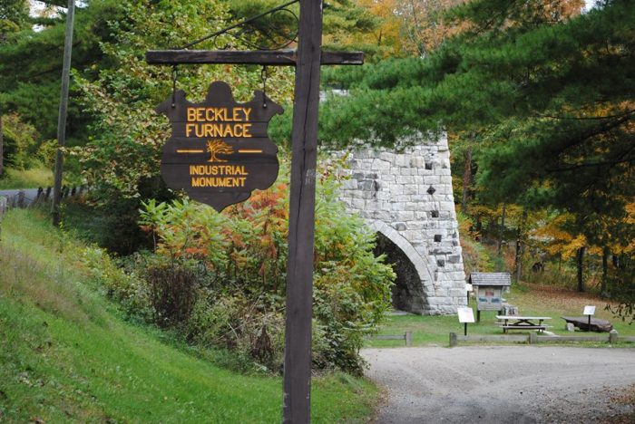 1. Beckley Furnace Industrial Monument (North Canaan)