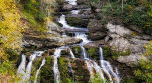 8. Cullasaja Falls
