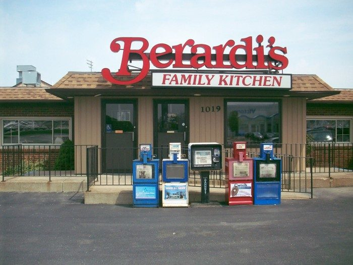 6. Berardi's Family Kitchen (Sandusky)