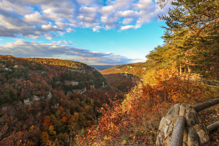 10. Cloudland Canyon Overlook Trail