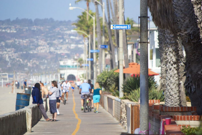 7. Oceanfront Boardwalk -- San Diego