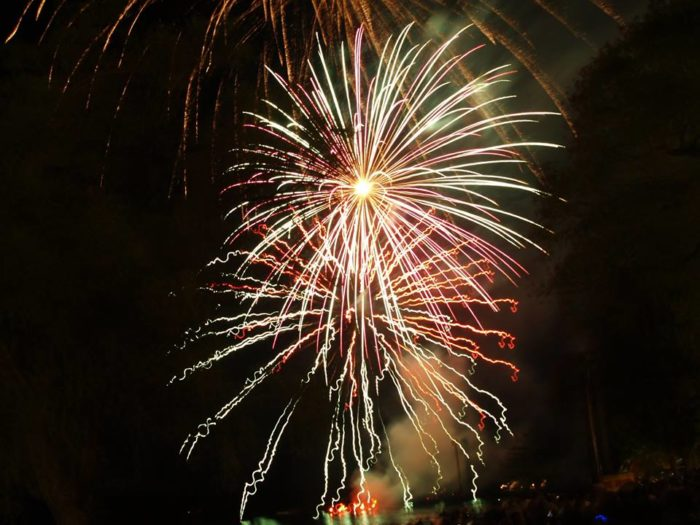 2. Quassy Amusement Park (Middlebury) does 3-D fireworks on July 4.