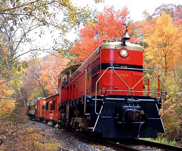 9. Tour the countryside of Western Pennsylvania aboard Kiski Railroad.