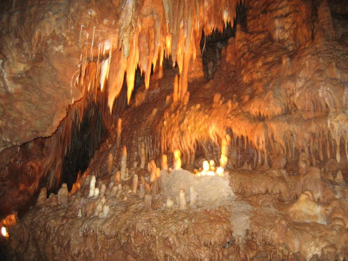 10. Explore a cave.
