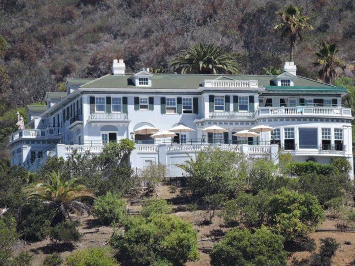 7. Inn on Mt. Ada -- Catalina Island