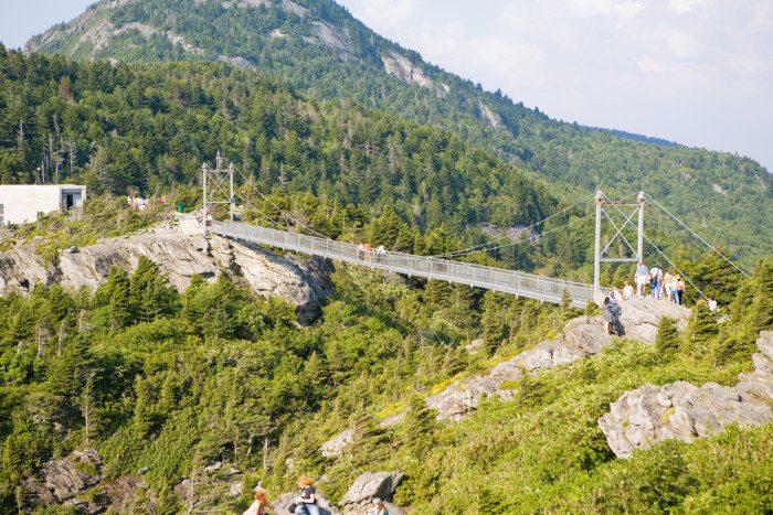 9. North Carolina: Mile High Swinging Bridge