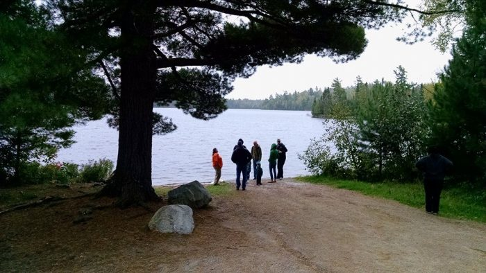 For just $40 for adults and $20 for kids under 12, you can take an EPIC excursion through the Northwoods to Hanson Lake with North Woods Adventures.