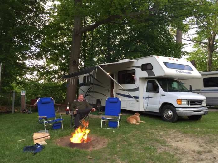 6.  Make a night of it - camp at North Beach Campground.