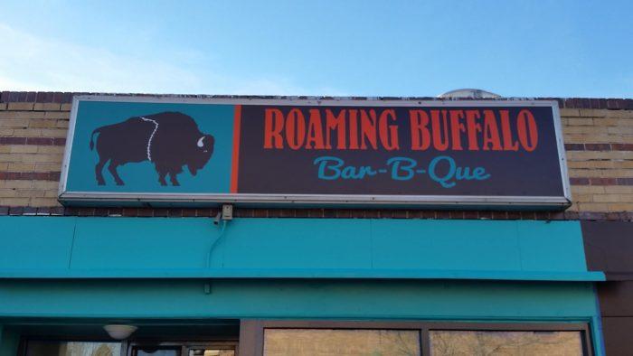 9. Roaming Buffalo Bar-B-Que, 2387 South Downing Street