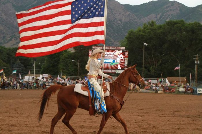14. You can see a rodeo pretty much any day of the month in July.
