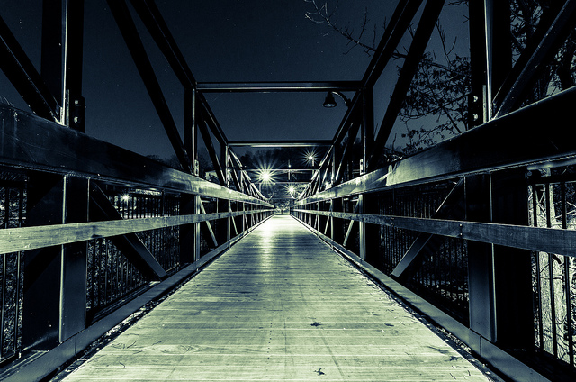 3. Pedestrian Bridge, Claremont