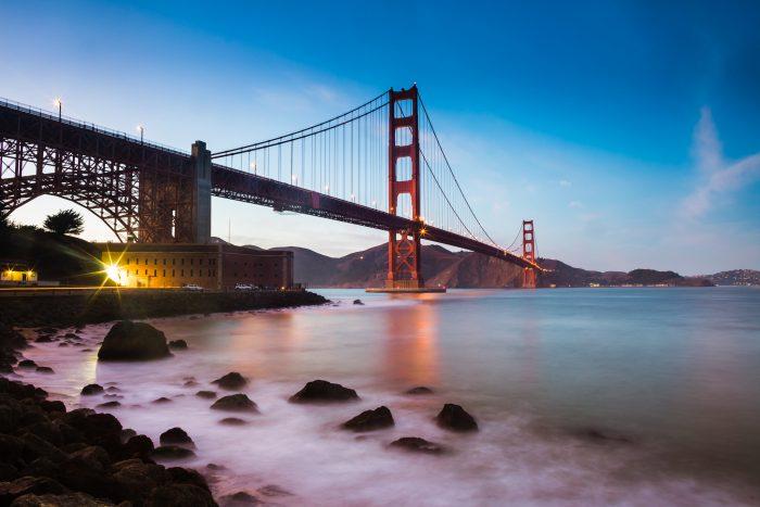 5. California: Golden Gate Bridge