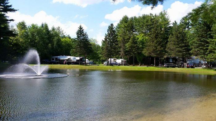 3.  Pine Hollow Campground, Pownal