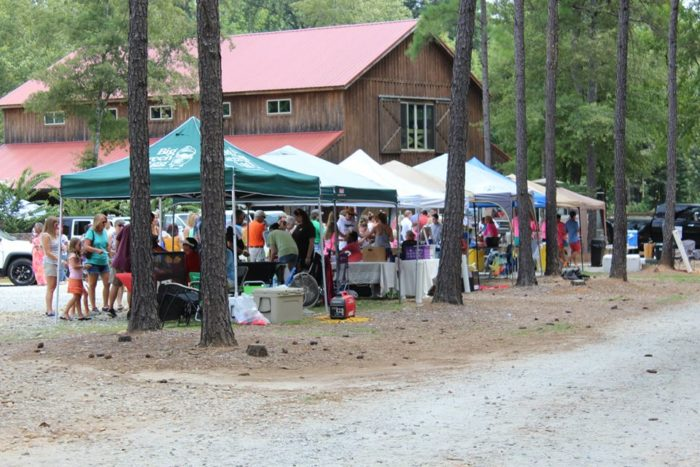 3. Cool down at the Crooked Pines Farm Ice Cream Festival.